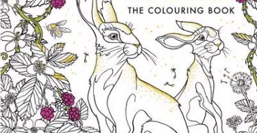 Watership Down Coloring Book cover