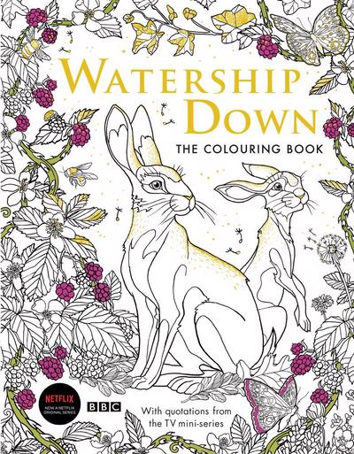 Watership Down Colouring Book
