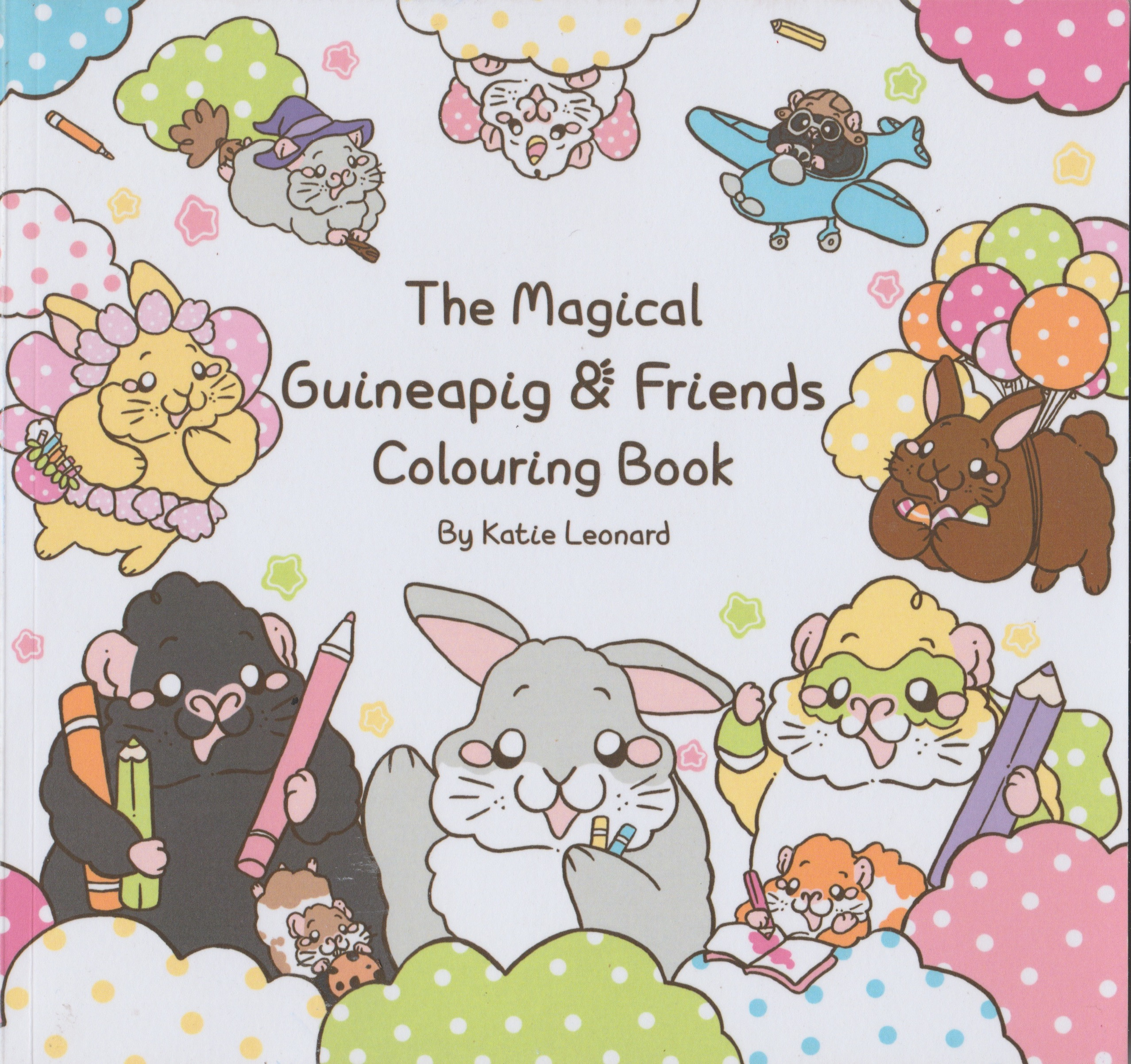 The Magical Guinea Pig & Friends Colouring Book
