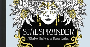 Själsfränder Coloring Book from Sweden cover art