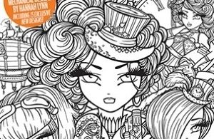 Colouring Heaven Steampunk Special magazine by Hannah Lynn