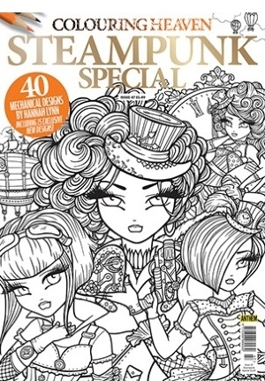 Colouring Heaven Steampunk Special Coloring Queen