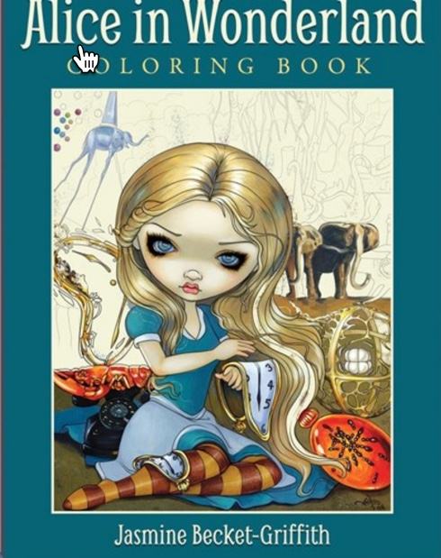 Alice In Wonderland Coloring Book - Jasmine Becket-Griffith ...