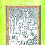 Slavic Beauties Cut & Color Coloring Book Review