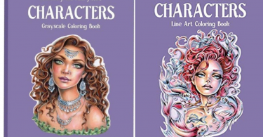 Cover image of Fantasy and Fairytale Characters Coloring Book by Christine Karron