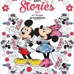 Disney Love Stories – Volume 2 – Coloring Book Review