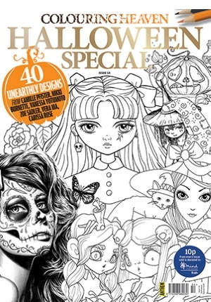 Colouring Heaven:  Halloween Special