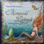 Mermaid Legends Coloring Book cover
