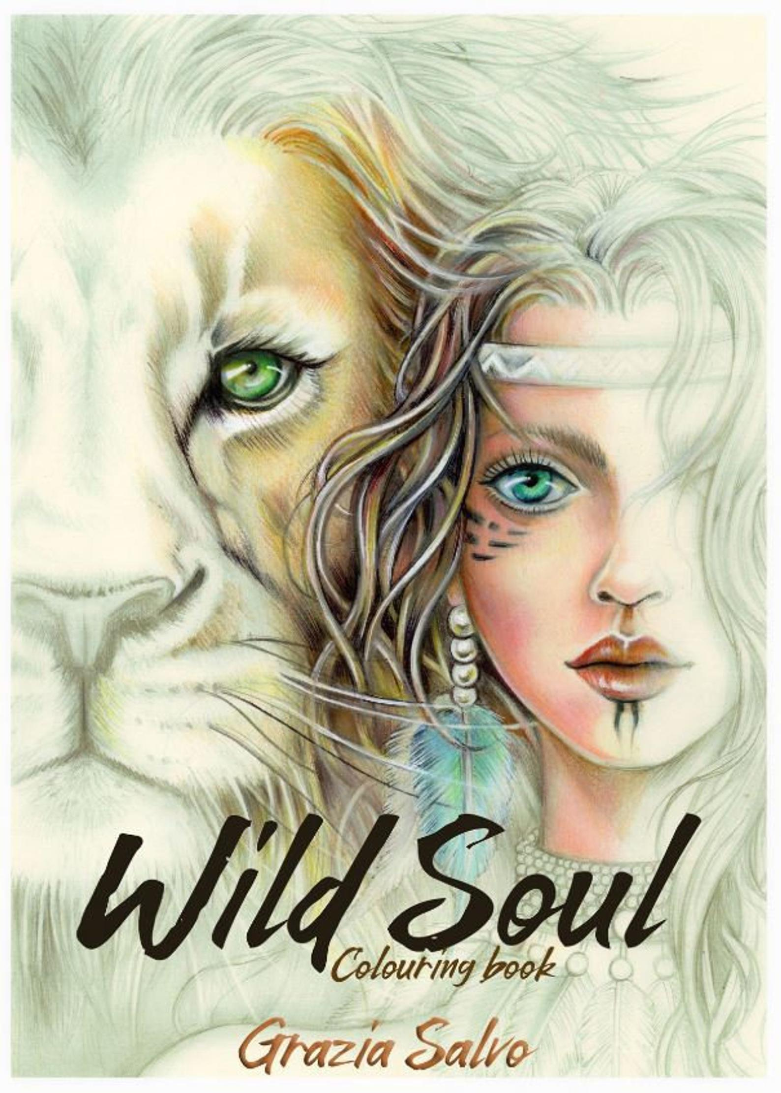 Wild Soul Coloring Book