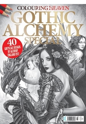 Colouring Heaven: Gothic Alchemy Special Coloring Book