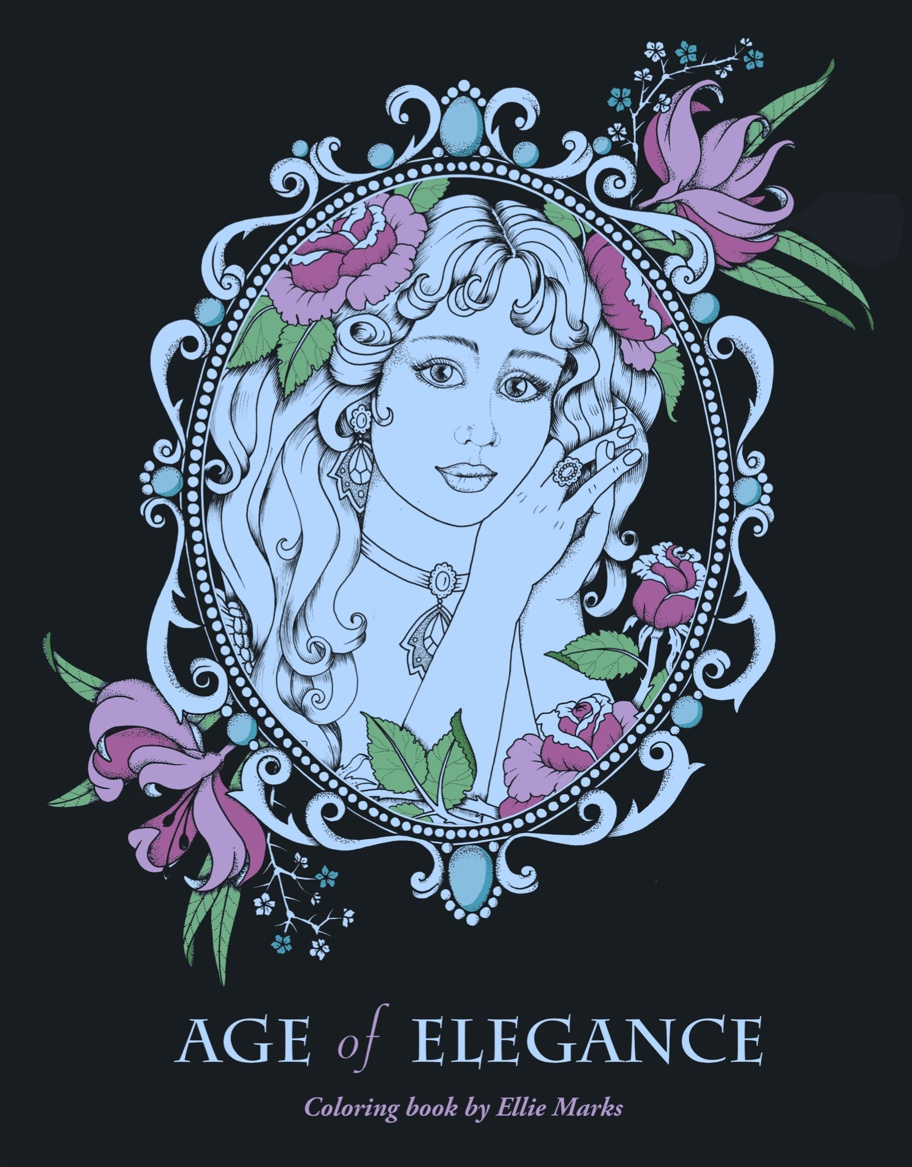 Age of Elegance Coloring Book
