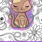 Kitty Cats Pocket Coloring Book Review