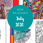 Coloring Books – New Releases –  July 2020