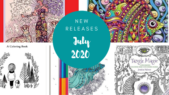 Coloring Books - New Releases - July 2020 Coloring Queen