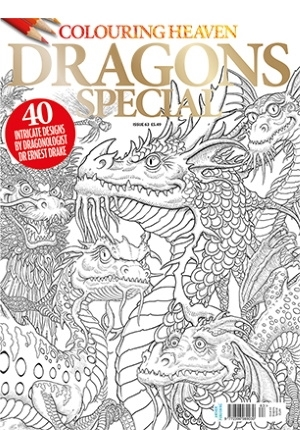Colouring Heaven: Dragons Special Coloring Book Review ...