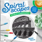 Spiralscopes - World Landmarks coloring book cover