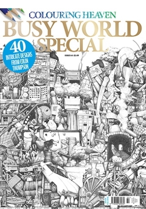 Colouring Heaven: Busy World Special Coloring Book