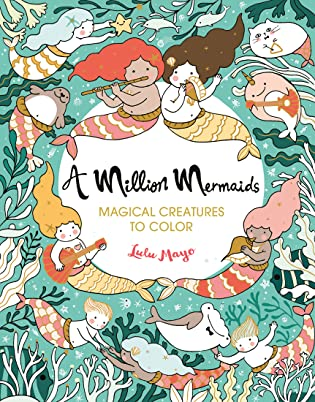 A Million Mermaids Coloring Book Review