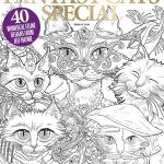 Colouring Heaven: Fantasy Cats Special  Coloring Book Review