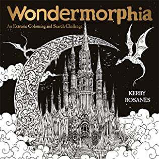 Wondermorphia: An Extreme Colouring and Search Challenge Coloring Book Review