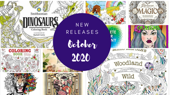 Coloring Books - New Releases - October 2020 Coloring Queen