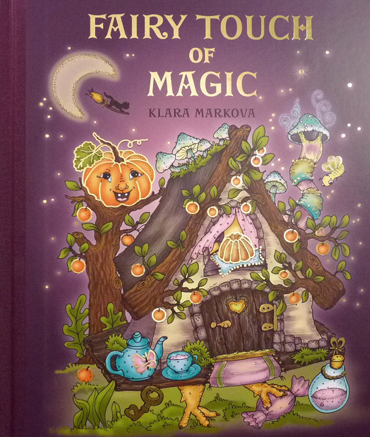 Fairy Touch of Magic Coloring Book
