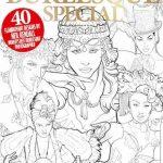 Colouring Heaven: Burlesque Special Colouring Book Review