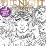 cover of Colouring Heaven: Creatures of the Night Colouring Book