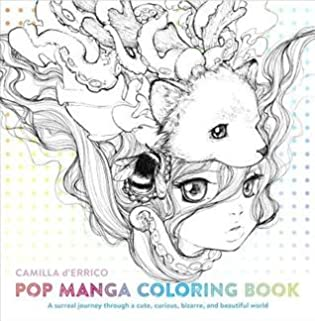 Pop Manga Coloring Book Review