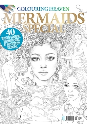 Colouring Heaven: Mermaids Special Coloring Book
