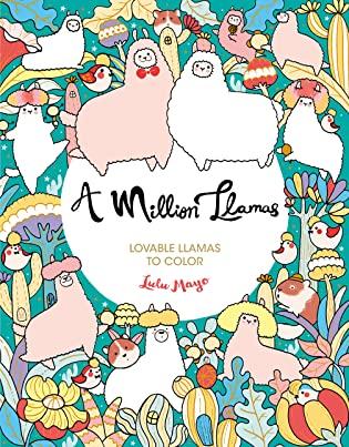 A Million Llamas Coloring Book Review
