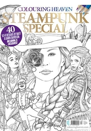 Colouring Heaven: Steampunk Special