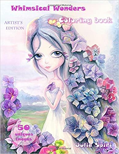 Whimsical Wonders: Artist's Edition Coloring Book