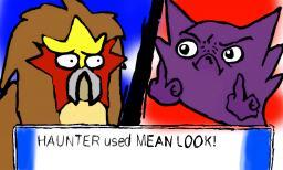 Haunter learn mean look