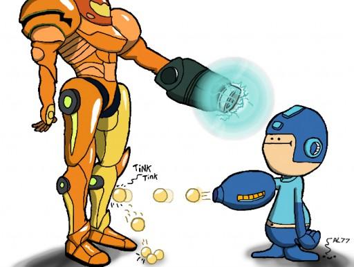 Samus Vs Mega Man