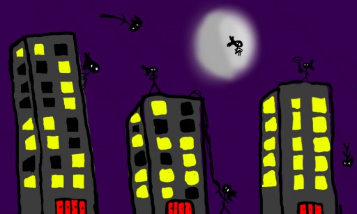 Ninja City by younglink1
