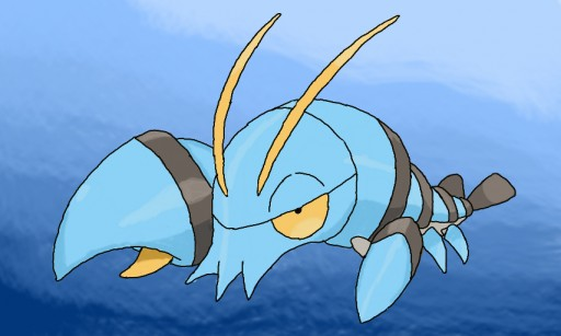 Lobster Pokemon Evolution Images | Pokemon Images