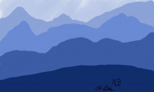 blue ridge mt by xander334
