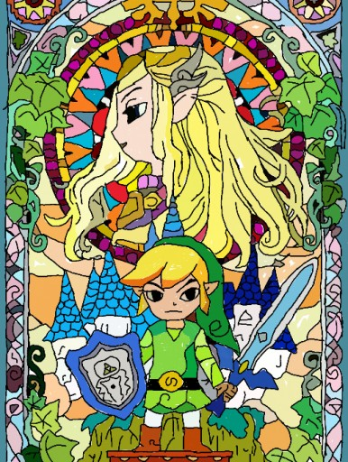 the legend of zelda by taheri