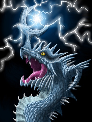 Thunder dragon by Nipsu