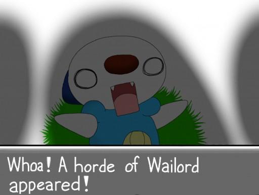 Wailord Horde!!! Wailord Horde