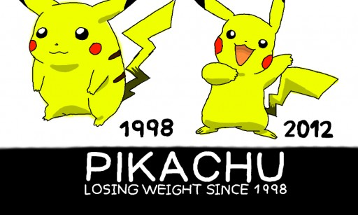 pikachu weight loss memebase