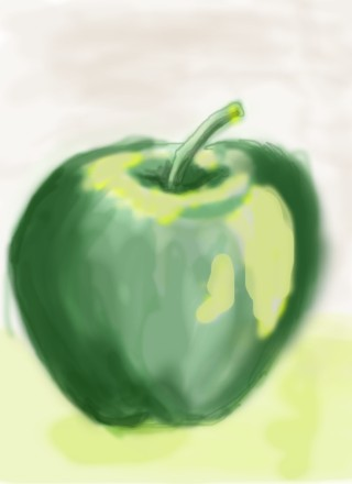 green apple revisited by lettyholton