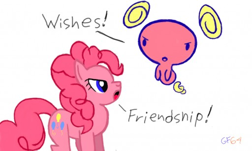 Wishes vs. Friendship by GenesisFan64