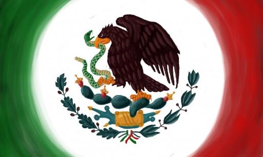 Escudo De La Bandera De Mexico