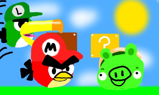 Super Angry Bird Bros. by Orange Bird