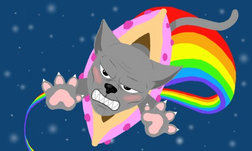 Colors Live The Cutest Nyan Cat By Remilia