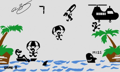 Game And Watch Parachute by