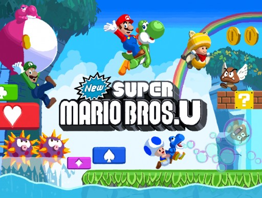 New Super Mario Bros. U by cbarrett0241
