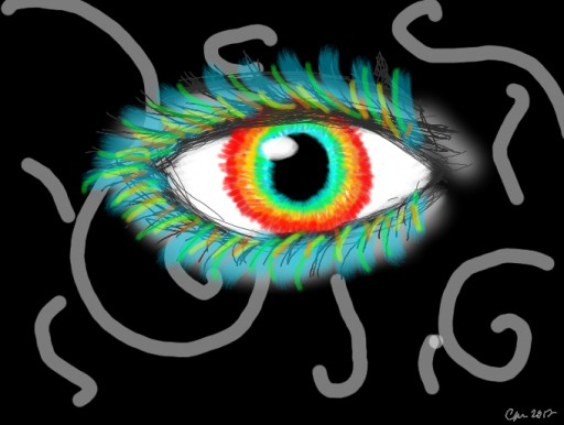 MAGICAL EYEBALL  by Grell
